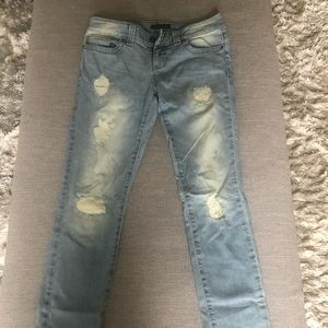 Guess Los Angeles cuffed jeans